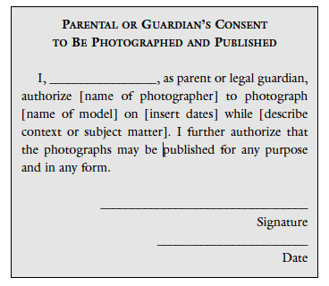 The Role Of Permission In Photography Educational