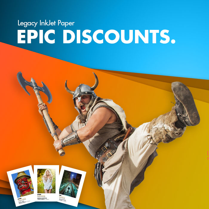 Legacy Inkjet Paper - EPIC Discount