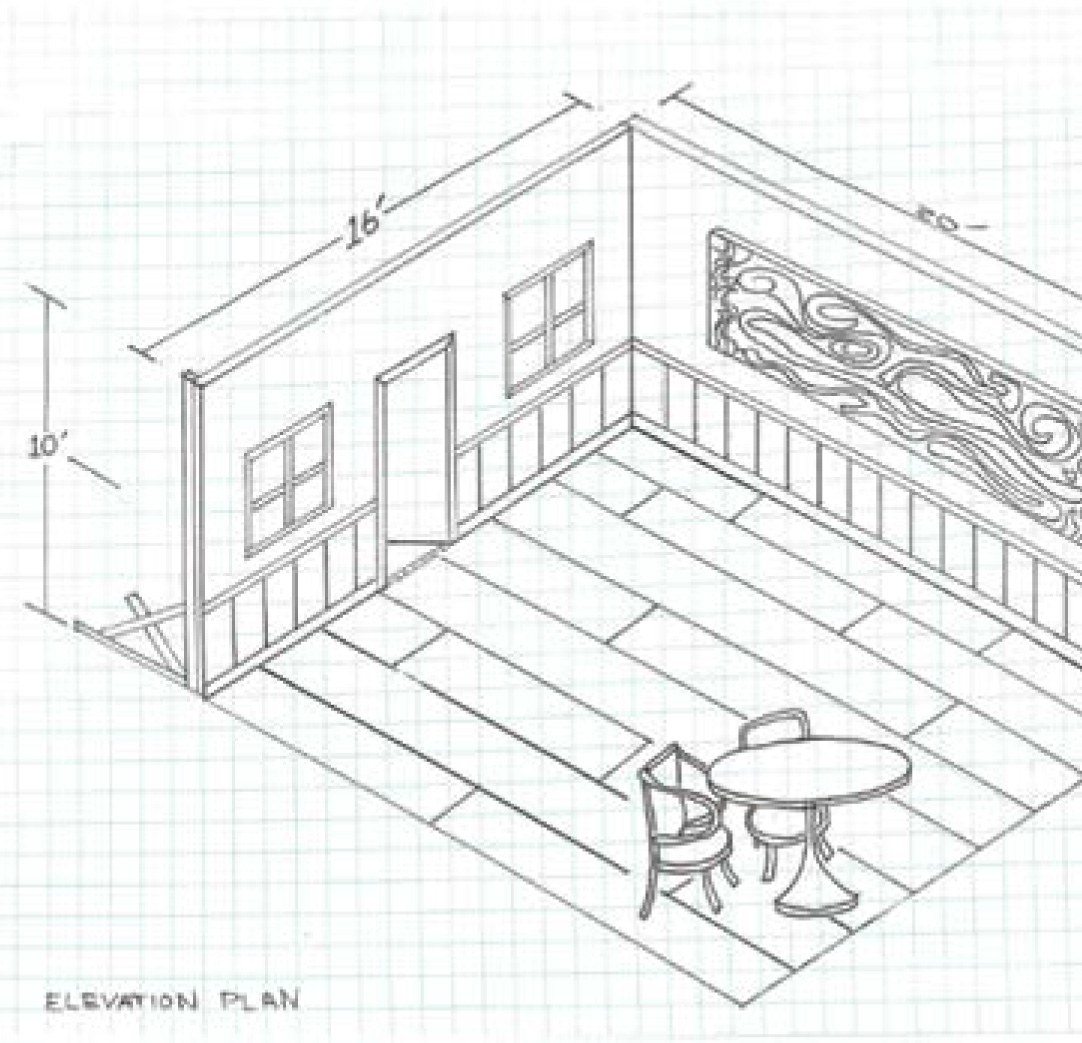How to sketch a set educational articles and book for Floor plan sketch