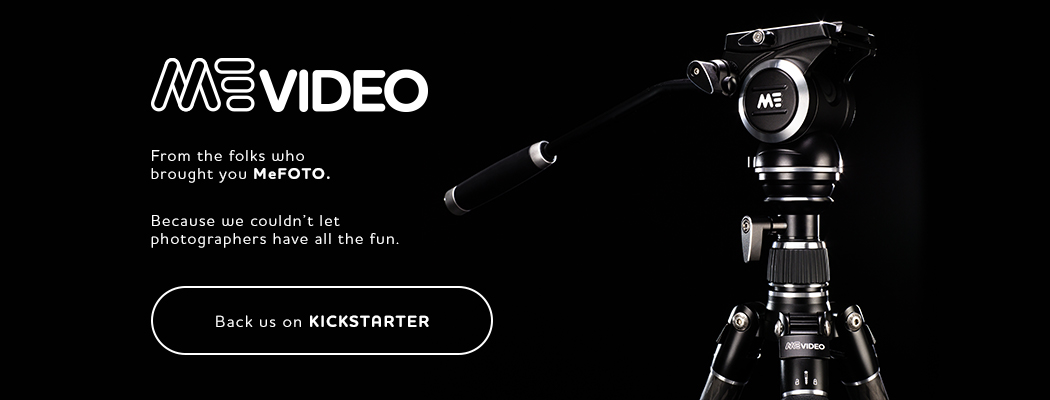 MeVIDEO, NEW on Kickstarter