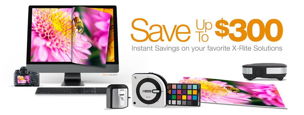 X-Rite Summer Savings