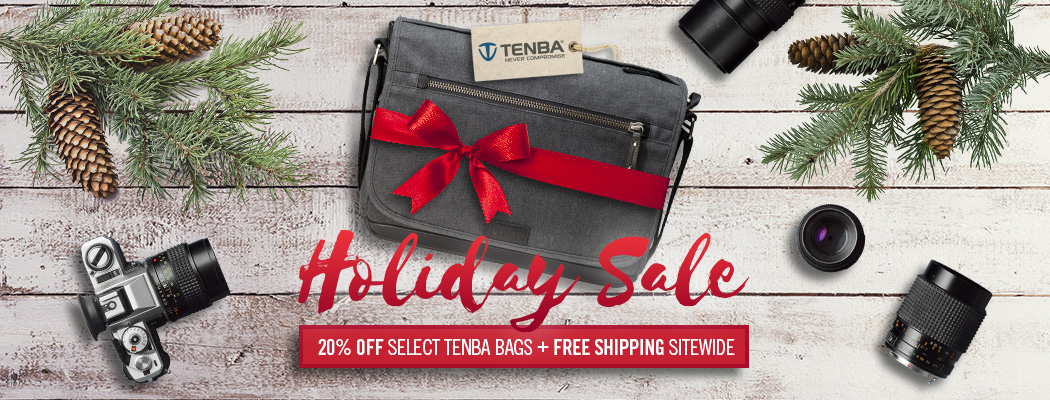 Tenba Holiday Promo