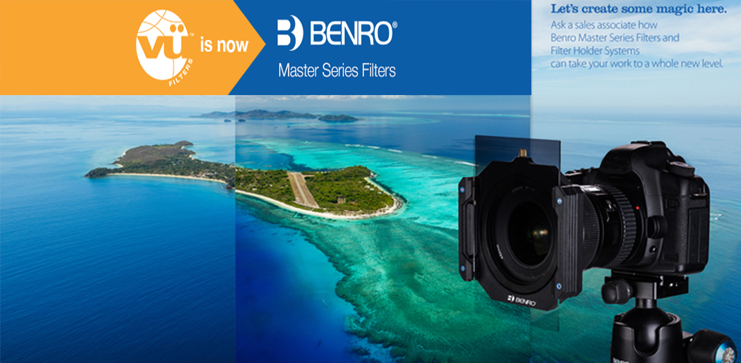 Vu is now Benro Master Series Filters