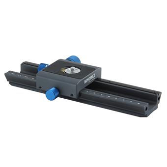 NOVOFLEX CASTEL-L - MiniConnect Focusing Rack with Quick Release Base and Plate