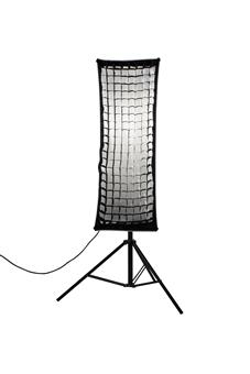 Nanlite Nanlite Fabric Grid for Asymmetrical Stripbank Softbox (18x43in)