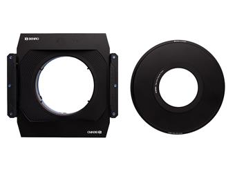 Benro Master 170mm Filter Holder Set includes 170mm filter holder with compression ring (FH170C1), 95mm lens mounting ring (FH170R95) and step-down ring 95-77mm (DR9577)