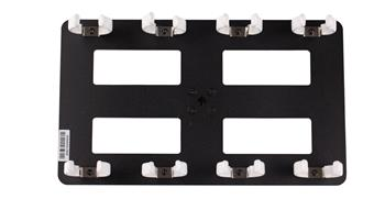 Nanlite Nanlite Pavotube Quad Bank 4 T12  LED Tube Mount with Gooseneck and 5/8in Reciever