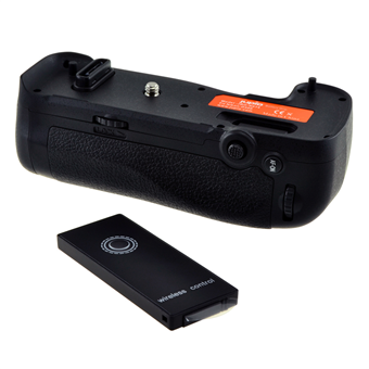 Jupio Battery Grip for Nikon D500 (MB-D17) + 2.4 Ghz Wireless