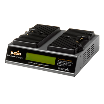Jupio Gold Mount Battery Charger