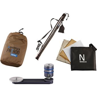 NOVOFLEX PATRON-SET-OLV - PATRON Photo Umbrella Kit - Olive