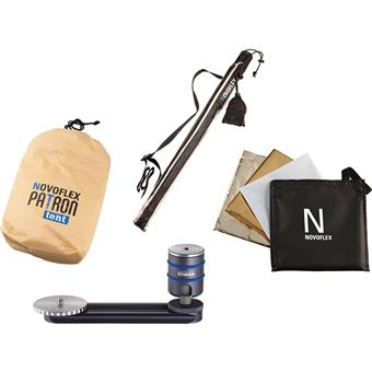 NOVOFLEX PATRON-SET-SAN - PATRON Photo Umbrella Kit - Sand