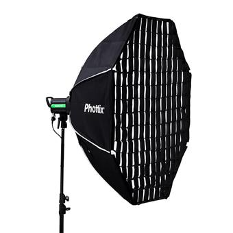 Phottix Solas Octagon Softbox with Grid 48