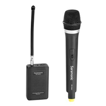 Saramonic SR-HM4C Cardioid Handheld VHF Wireless Microphone for the SR-WM4C Wireless System