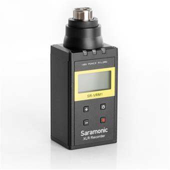 Saramonic SR-VRM1 - Digital Plug-on Linear PCM Recorder for XLR Microphones