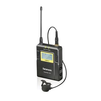 Saramonic UwMic9 TX9 UHF Bodypack Transmitter and SR-M1 Omnidirectional Clip-On Lavalier for UwMic9 RX9 Receiver