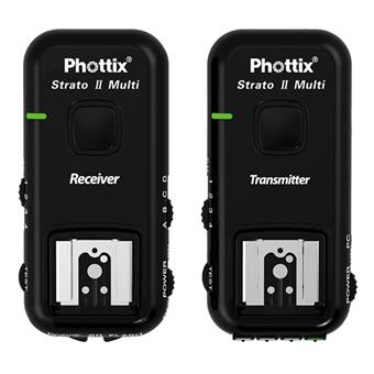 Phottix Strato II Multi 5-in-1 Trigger Set for Canon, Nikon